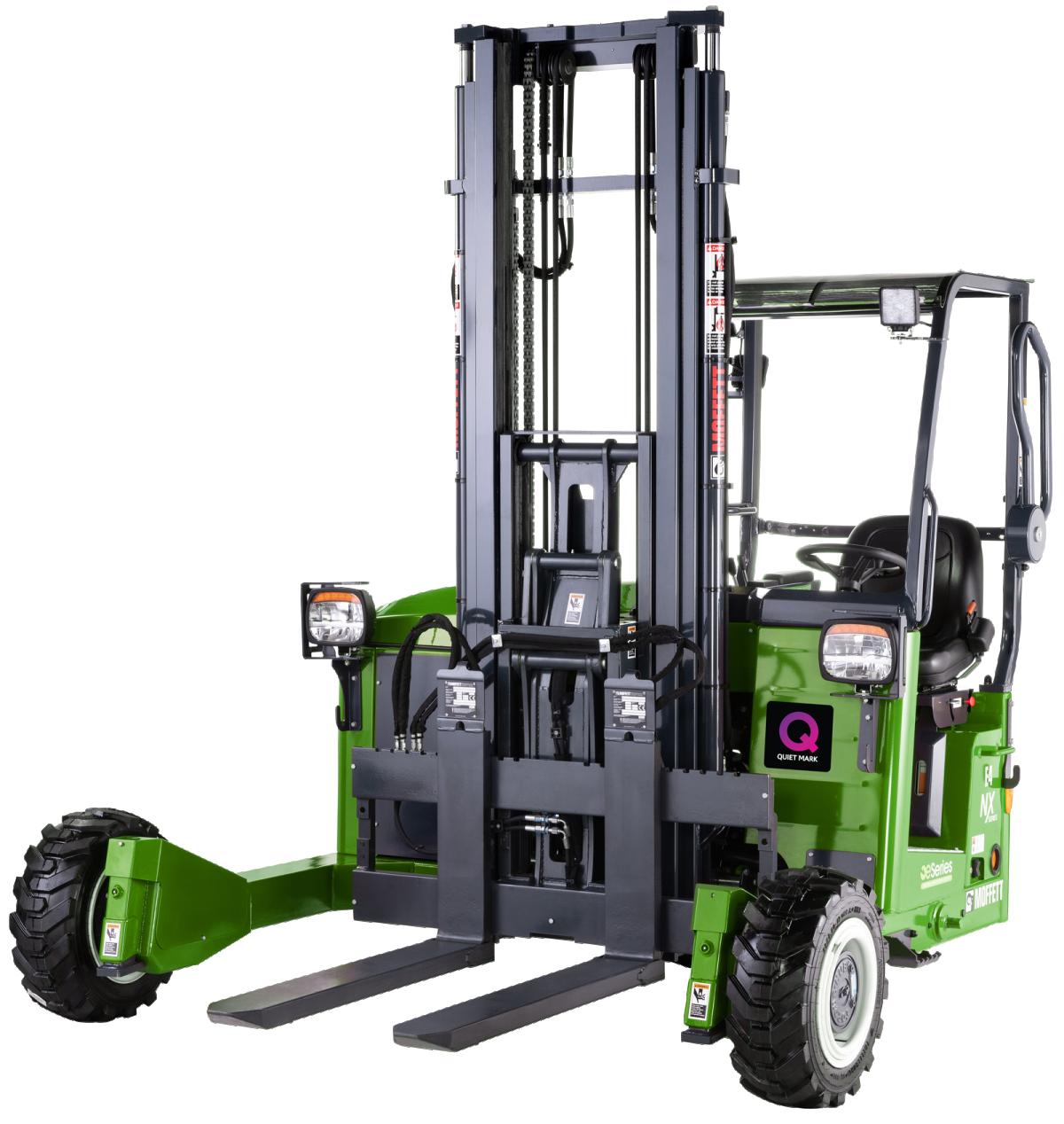 HIAB MOFFETT eSeries NX Truck Mounted Forklift