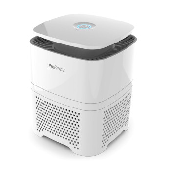 Pro Breeze 4-in-1 Air Purifier with Pre, True HEPA & Active Carbon Filter with Negative Ion Generator
