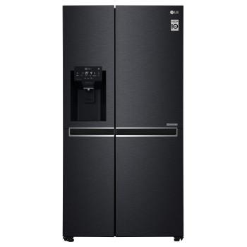 LG GSL760MCXV Large Capacity Fridge Freezer with Premium Ice & Water Dispenser