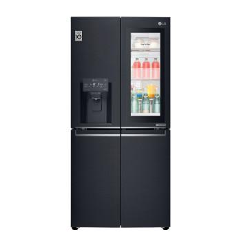 LG GMX844MCKV InstaView Door-in-Door™ Fridge Freezer with LINEARCooling™ (NatureFRESH)