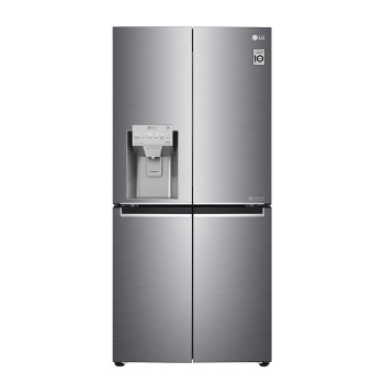 LG GML844PZKV LINEARCooling™ (NatureFRESH)  Pure N Fresh Multi-Door Fridge Freezer - Shiny Steel