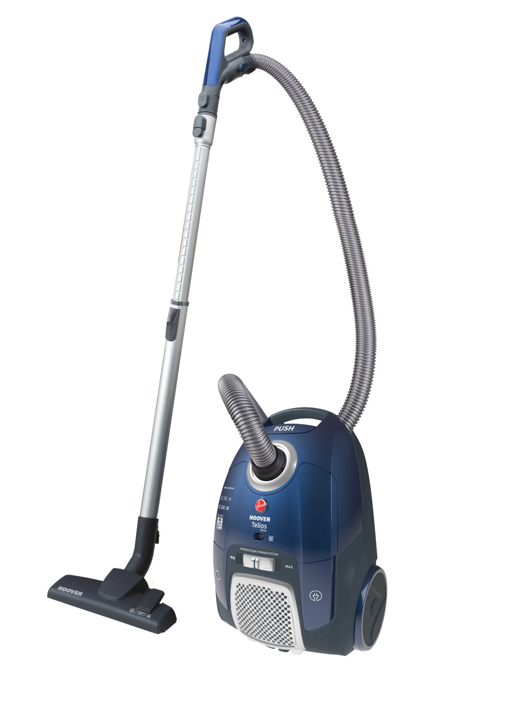 Hoover Telios Extra Bagged Cylinder Vacuum Cleaner featured image